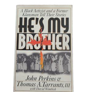☘️3/$30☘️ He's My Brother - book - social issues